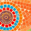 Colorful glazed tile background — Stockfoto #38075201