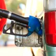 Stock Photo: Car refueling on petrol station
