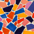 Colorful glazed tile — Foto de Stock