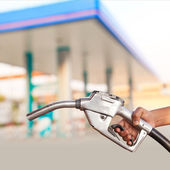 Gasoline fuel — Stock Photo