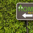 Home sign — Stock Photo #44288929