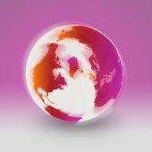 Kolorowe ziemi — Zdjęcie stockowe