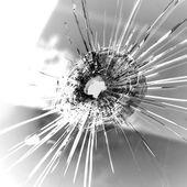 Bullet hole — Stock Photo