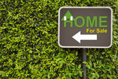 Home sign — Stock Photo
