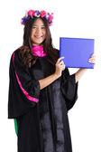 Female college graduate — Stock Photo
