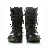 Military boots — Stock fotografie
