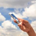 Phone in hand — Stock Photo #49317055