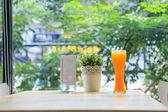 Suco de laranja — Foto Stock