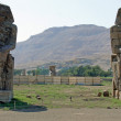 Memnon colossus, luxor — Stock Photo