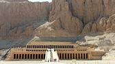 Temple of hatschepsut, luxor egypt — Stock Photo