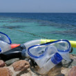 Ready for snorkeling — Stockfoto