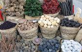 Dojmy z bazaru v staré hurghady — Stock fotografie
