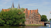Impressions from luebeck — Stock Photo
