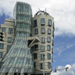 Pragues dancing house — 图库照片