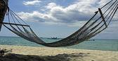 Relaxing hammock — Stock Photo