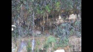 Karaiby wodospad — Wideo stockowe