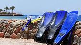Snorkeling equipment — Stock Photo