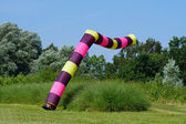 Kite flying — Stock Photo