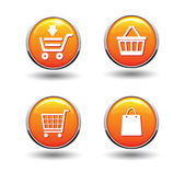 E-commerce shopping icon — Stock Vector
