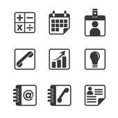 Office and Business Icon — Stock Vector