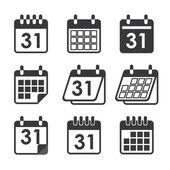 Ikonen kalender — Stockvektor