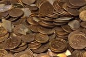 Money pennies — Stock Photo