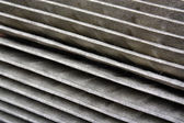 The old air filter — Stock Photo