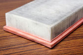 Old air filter — Stock Photo