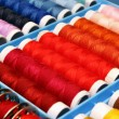Foto Stock: Sewing thread