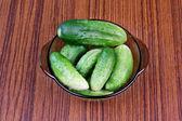 Cucumbers — Стоковое фото