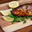 Stock Photo: Fish smoked whitefish