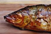 Whitefish fish head — Stock Photo