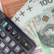 Stock Photo: Polish tax
