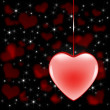 Valentine Heart Background — Stock Photo