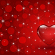 Valentine heart background — Stock Photo #39099155