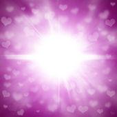 Valentine καρδιές φόντο — Φωτογραφία Αρχείου