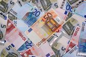 Money euro background — Stock Photo