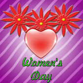 Women's day background — Stock Photo