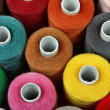 sewing threads multicolored — Stock Photo
