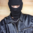 Masked thief — Stock Photo #41337071