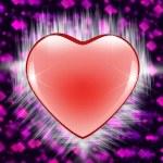 Valentine heart  background — Stock Photo #51050497