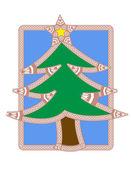 Illustration of Christmas tree — Stock Photo