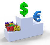Currency signs — Stock Photo