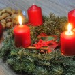 Advent Wreaths — Stock Photo