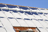 Solar modules — Stock Photo