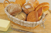 Assorted bread rolls — Stock Photo