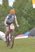 Jelenia Góra, Poland, June 30, 2013 - Maja Wloszczowska MTB, category Younger Junior Women — Stock Photo
