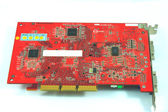 Rear of old graphic card — Stock Photo