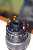 Untwisting of lens — Stok fotoğraf