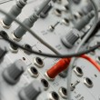 Stock Photo: Analog modular synth